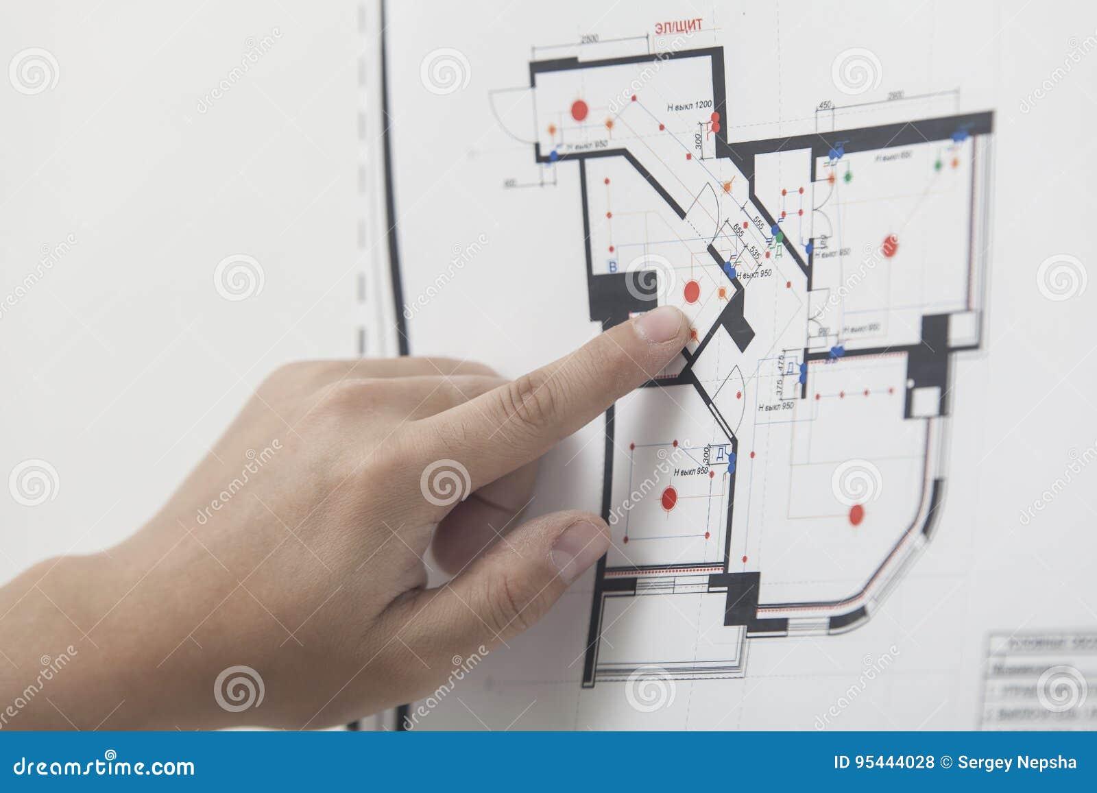 Dibujo del nuevo apartamento