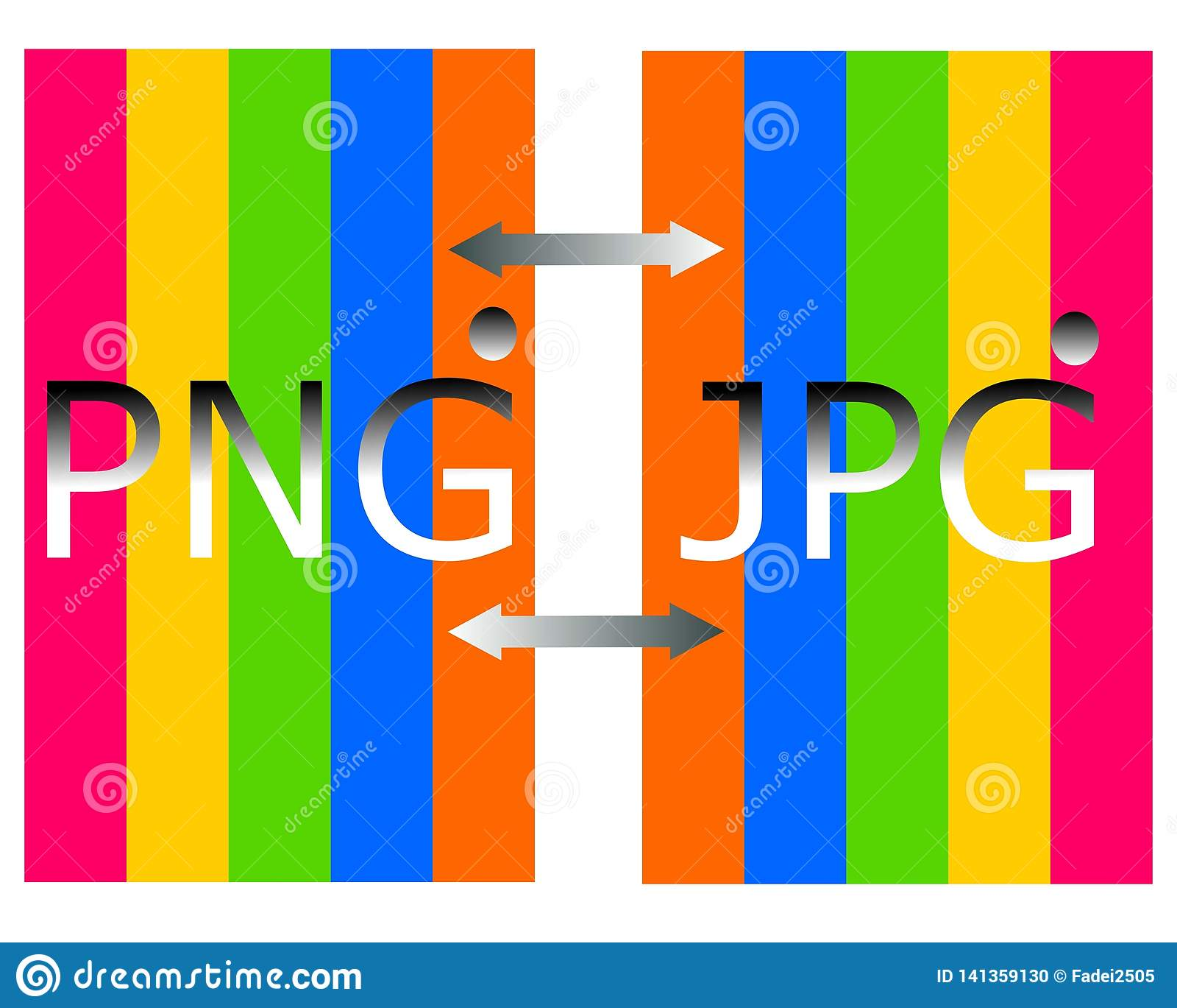 Dibujo del png en logotipo del fichero del jpg