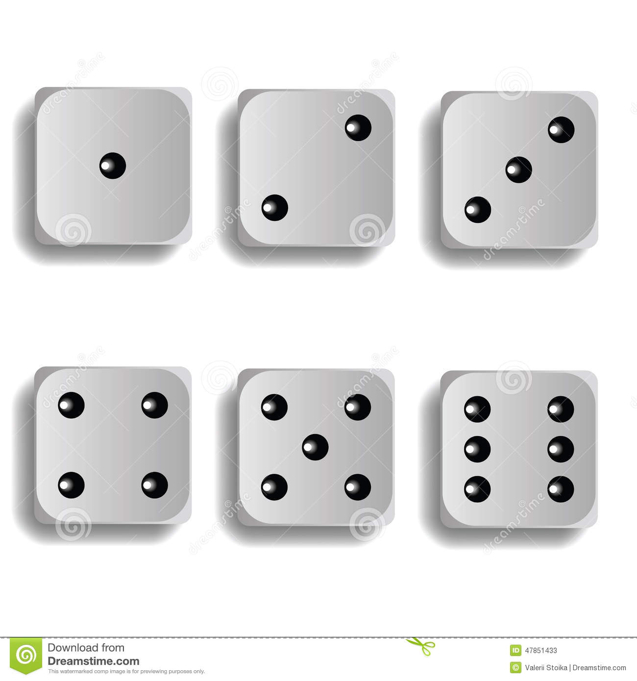 all dice sides