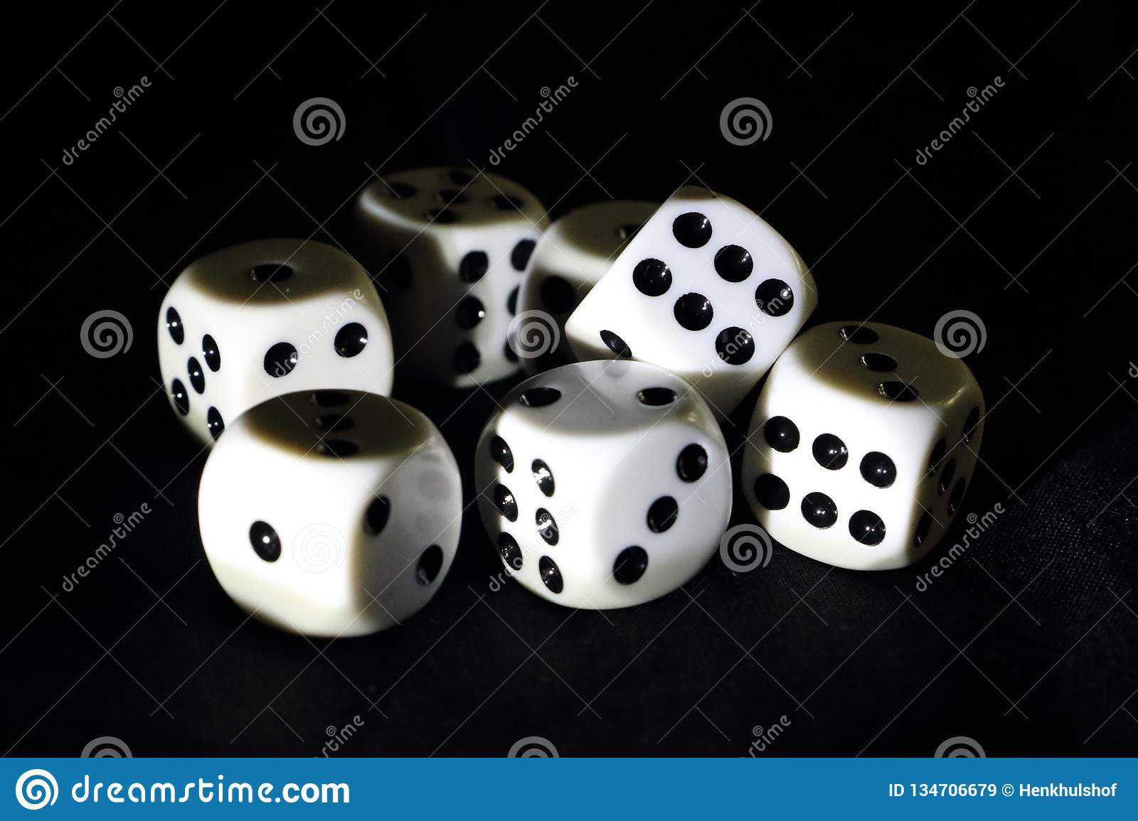 Dice for playing a game