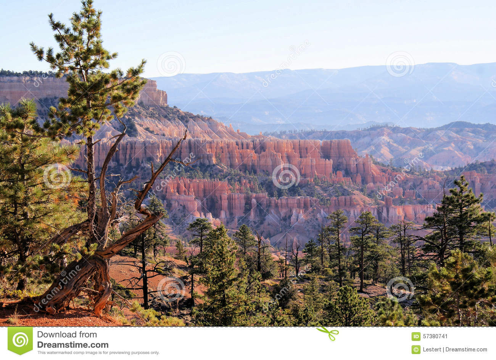 Dichtbij Bryce Canyon