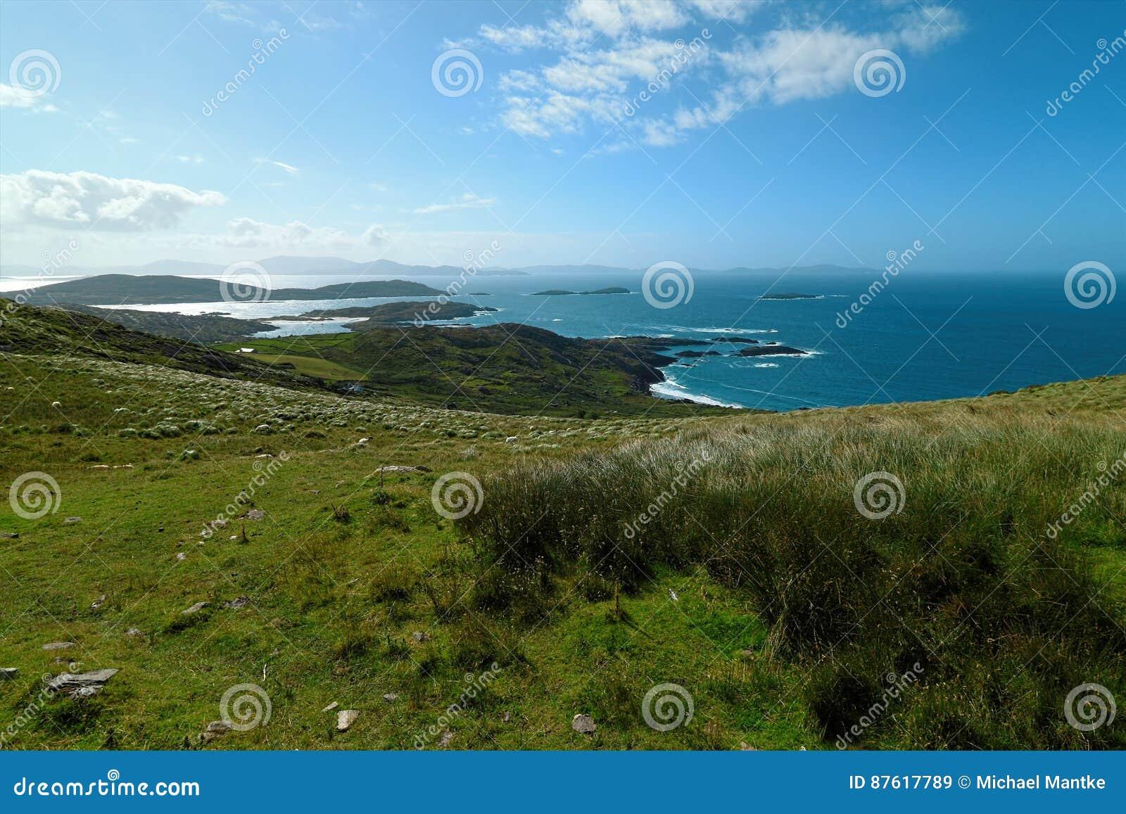 Dichtbij de oceaan - Klippen & aard bij de kust van Ierland
