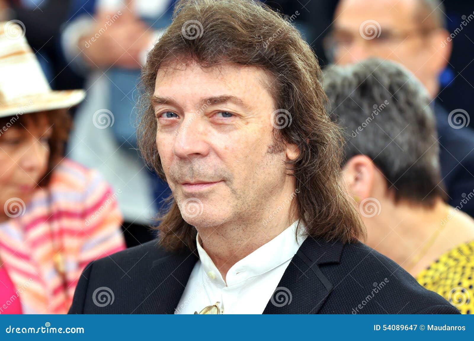 Dichte omhooggaand van de beroemde gitarist, Steve Hackett