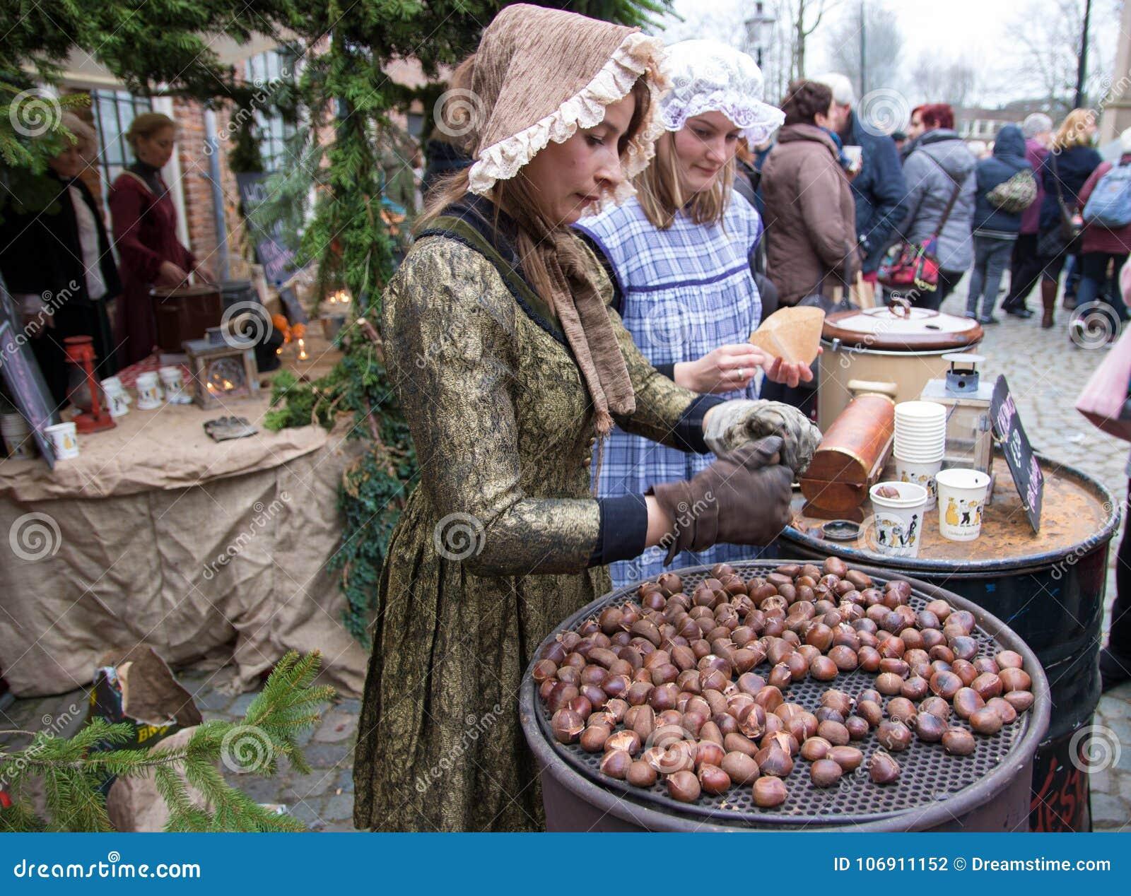 Dickens festiwalu charakterów kolęda