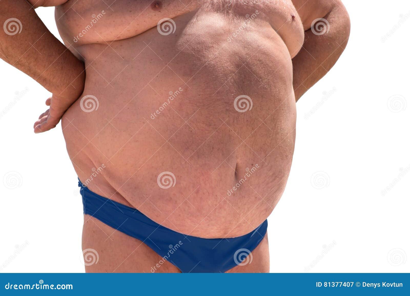 Mann bauch bilder dicker Dicker Bauch