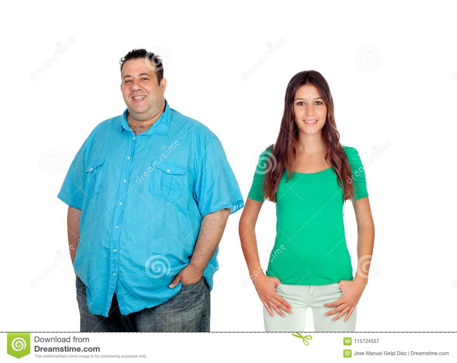 Dünne männer dicke frauen