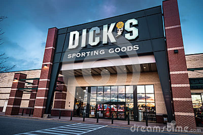 Dicks Sporting Goods retail sign and logo