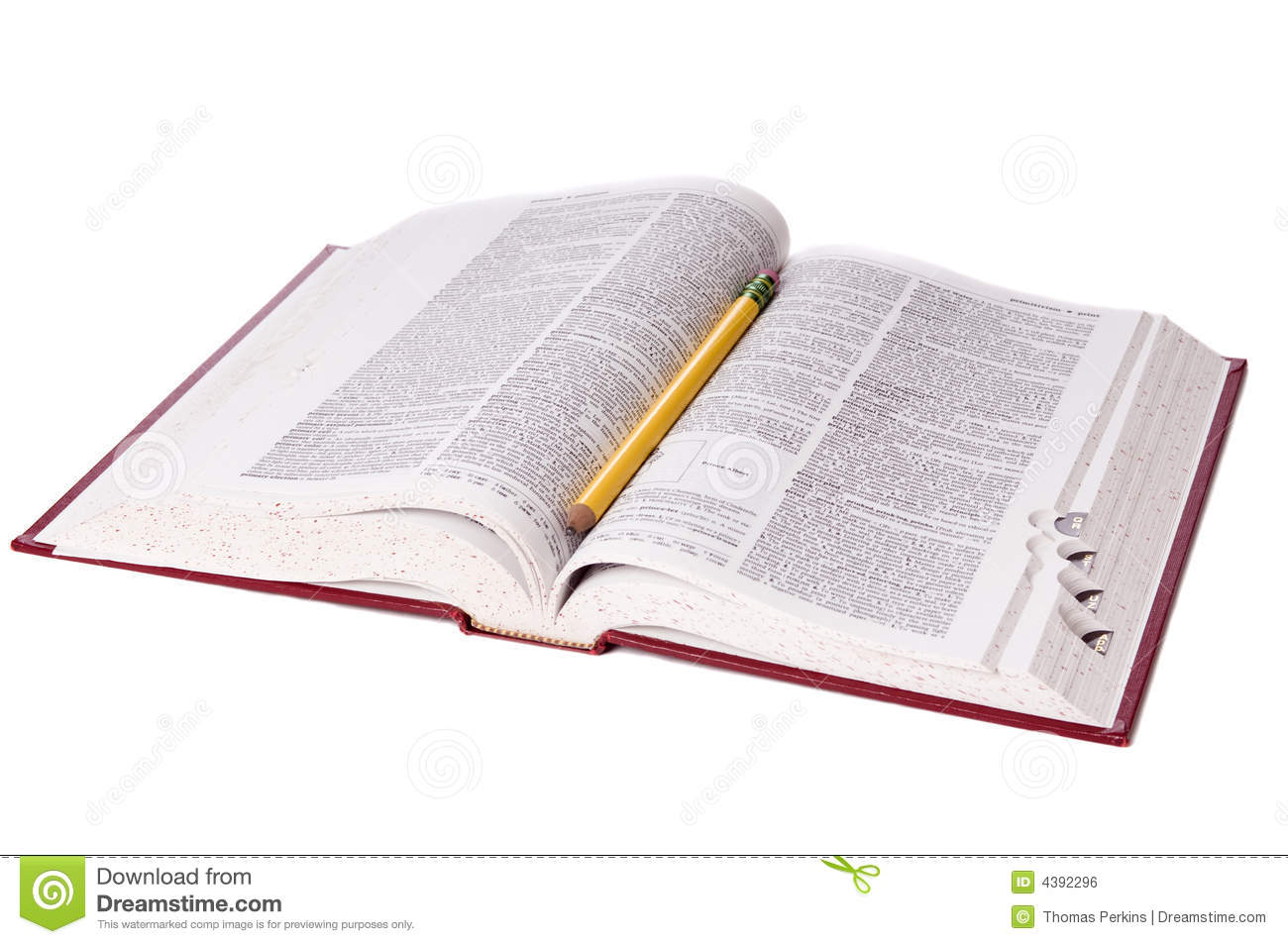 Dictionary royalty free stock image image 4392296 for Open dictionary