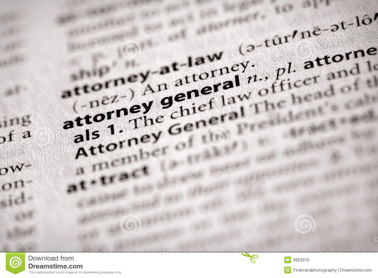 Attorney General Dictionary Meaning