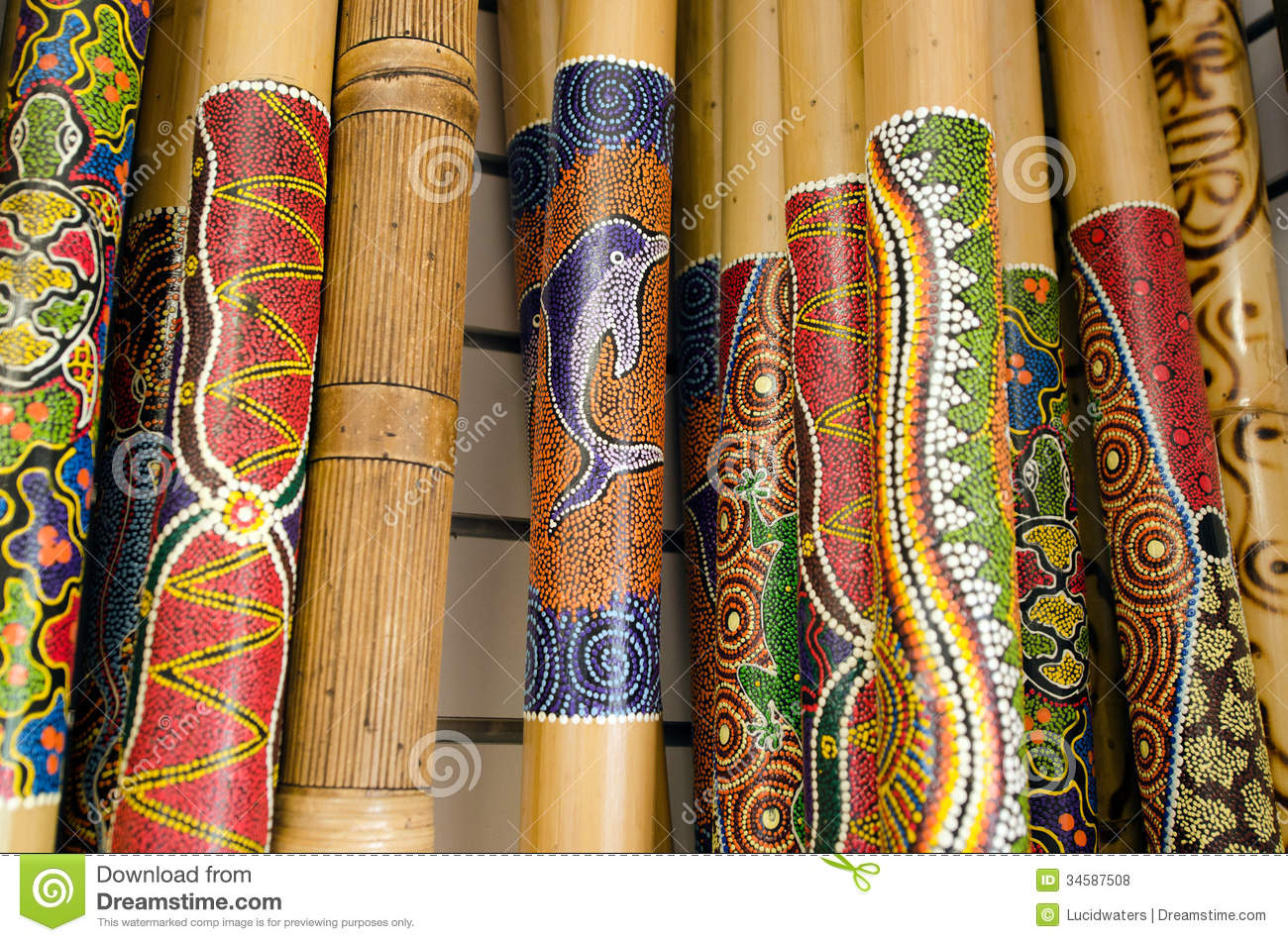 Didgeridoo Royalty Free Stock Photos Image 34587508