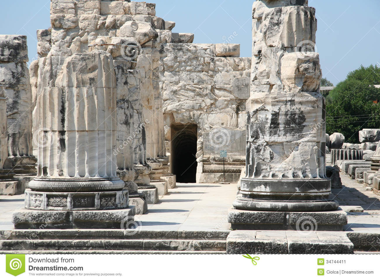 Didyma, Turkey Stock Image - Image: 34744411