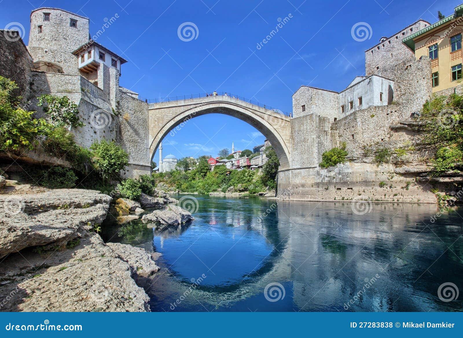 Die alte Brücke, Mostar