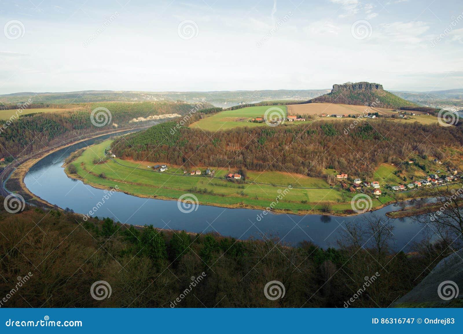Die Ansicht vom Fort