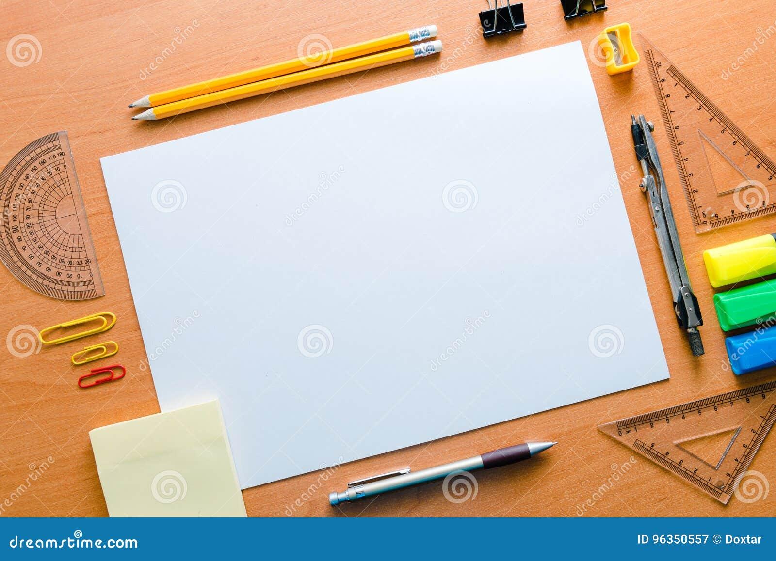 Die Aufspannfläche Der Tabelle Des Künstlers A Für Das Zeichnen