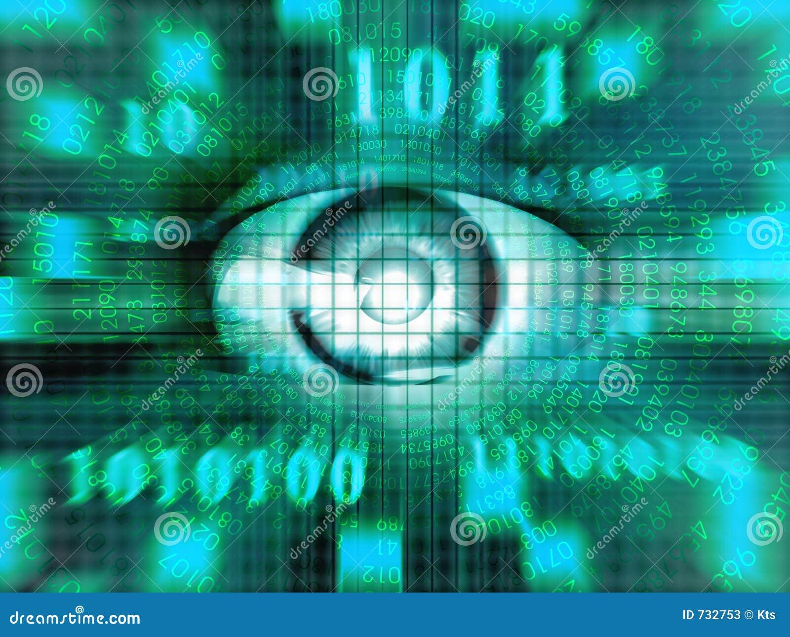 Die Augen der Technologie