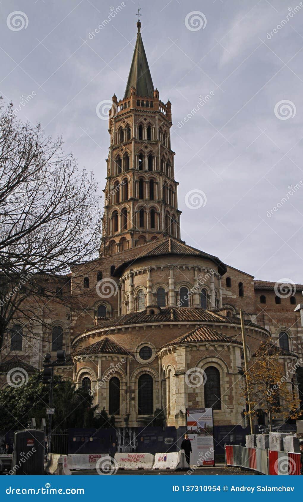 Die Basilika des Heiligen Sernin in Toulouse