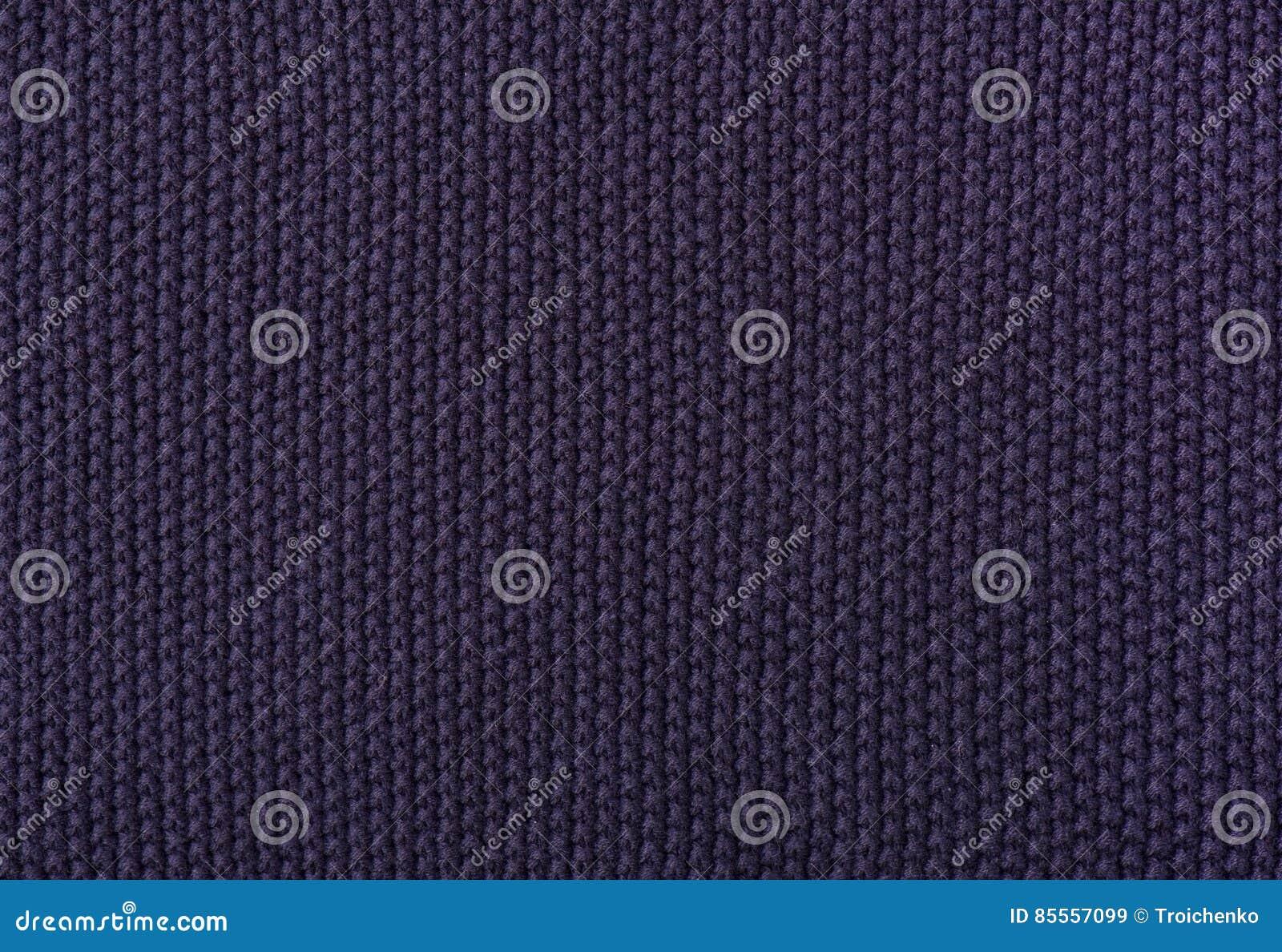 Die Beschaffenheit der gestrickten Dunkelheit des woolen Gewebes ungewöhnlicher abstrakter Hintergrund