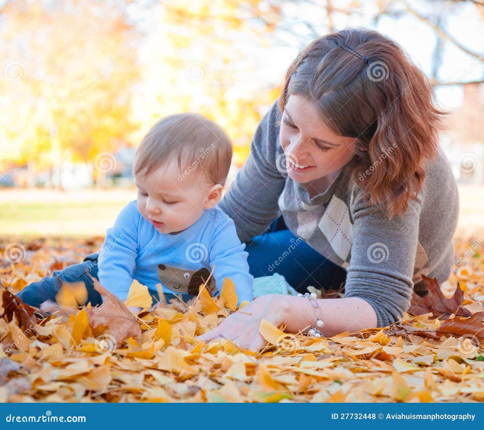 Die Blätter sind hübsche Mamma