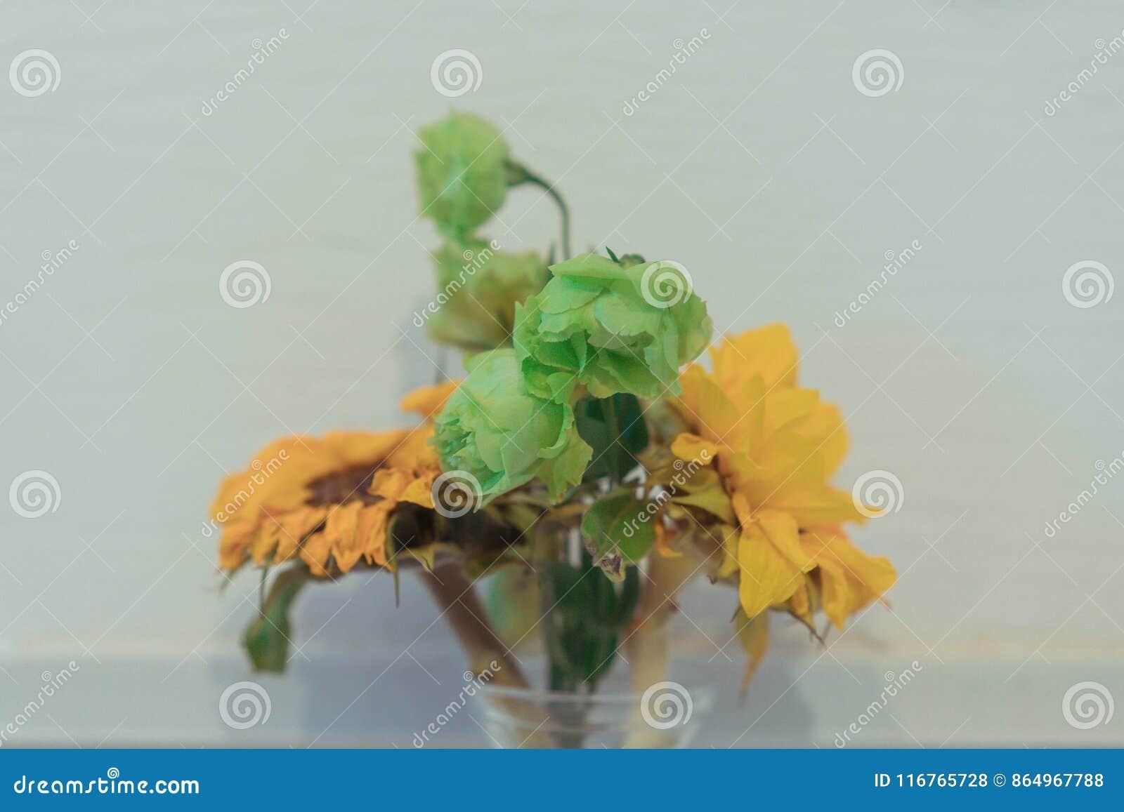 Die Blumen im Vase