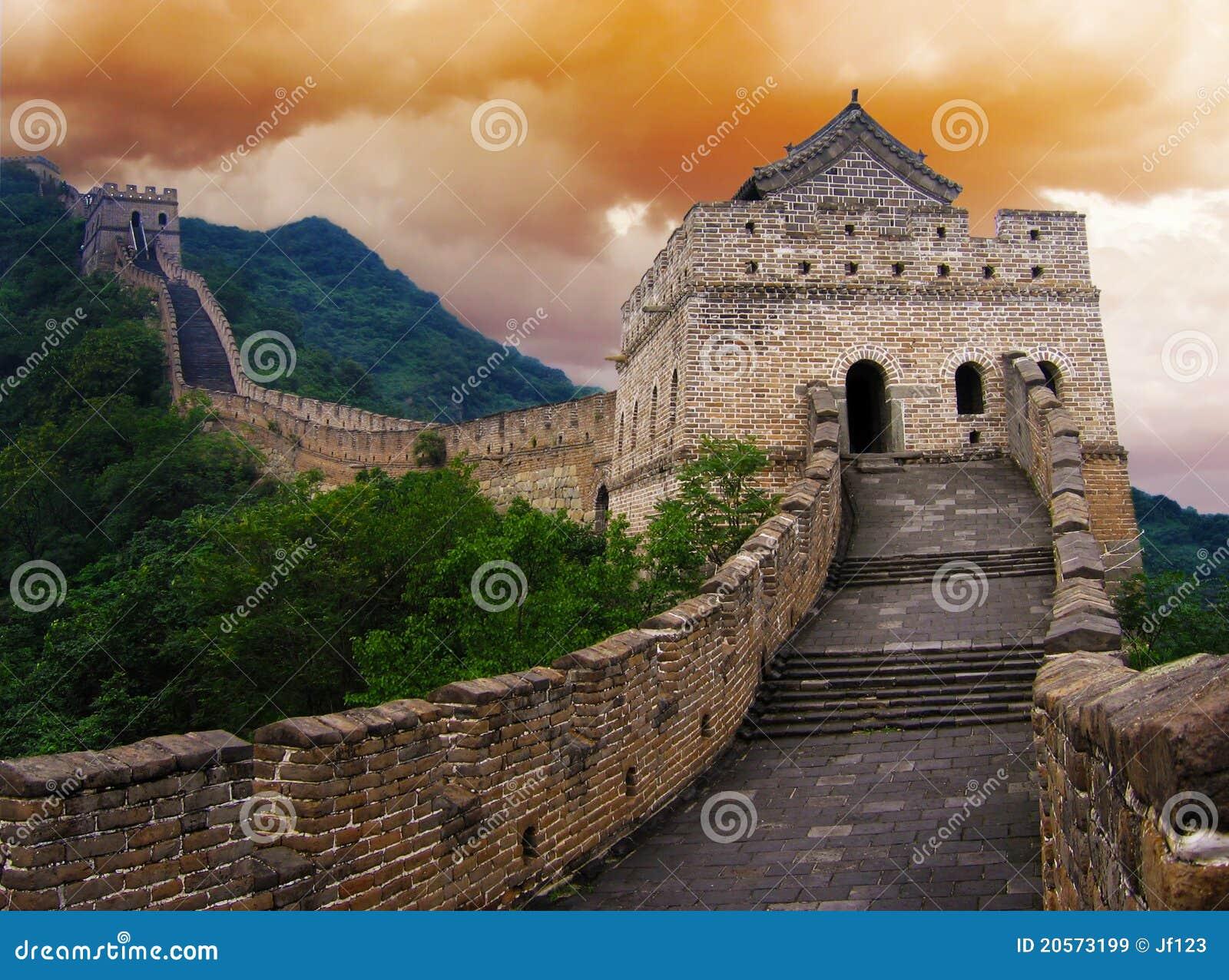 Die Chinesische Mauer von China