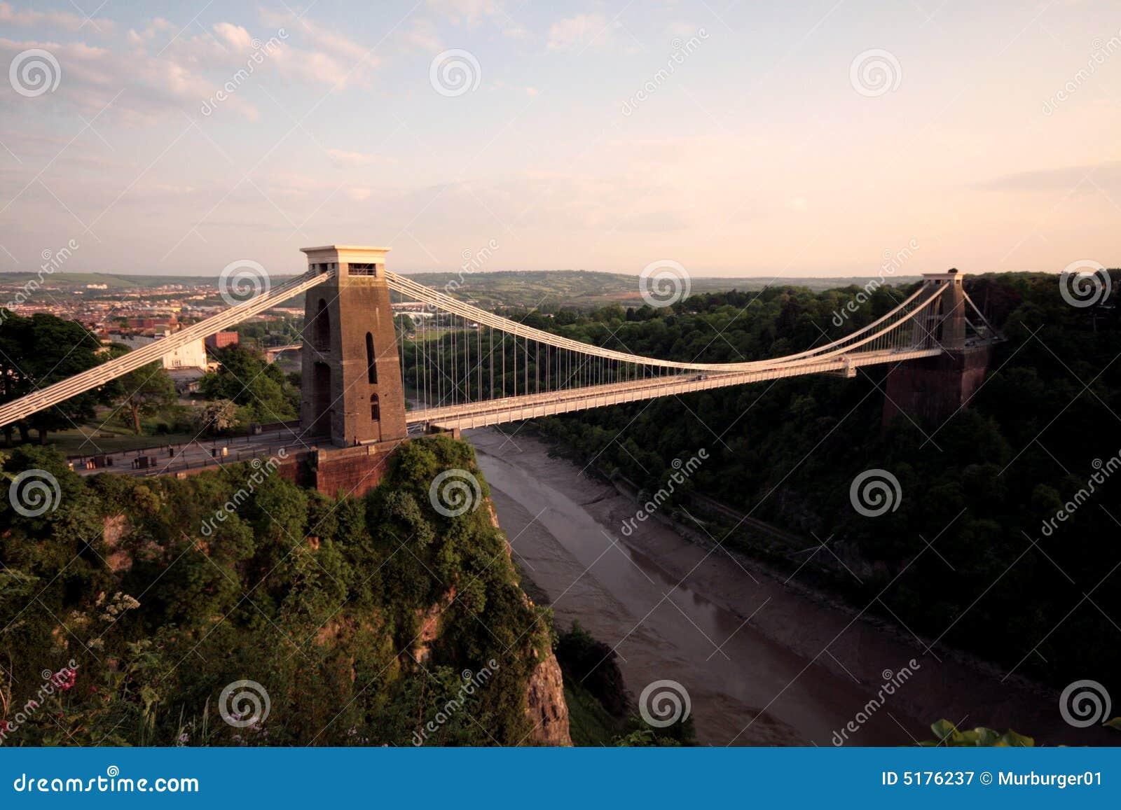 Die Clifton Aufhebung-Brücke Bristol