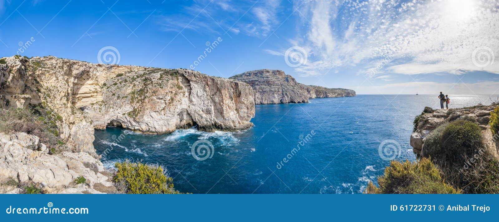 Die Dingli Klippen in Malta