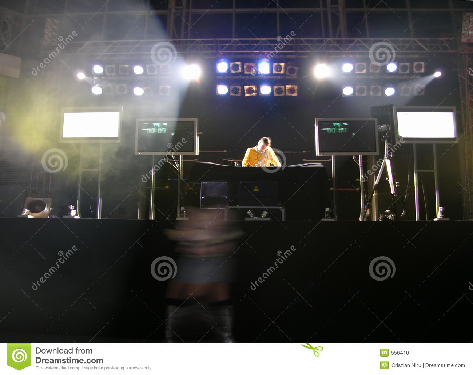 Die Diskjockey-@ Party