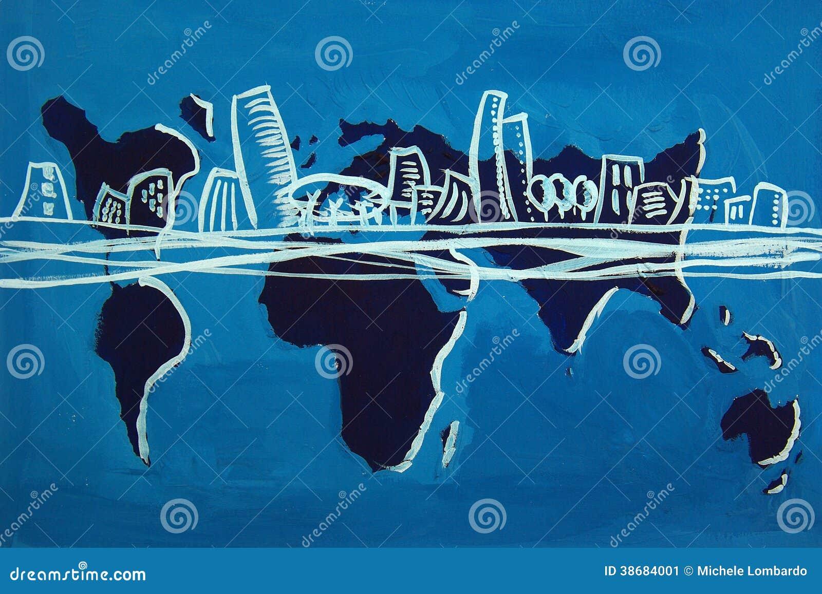 Die fünf Kontinente