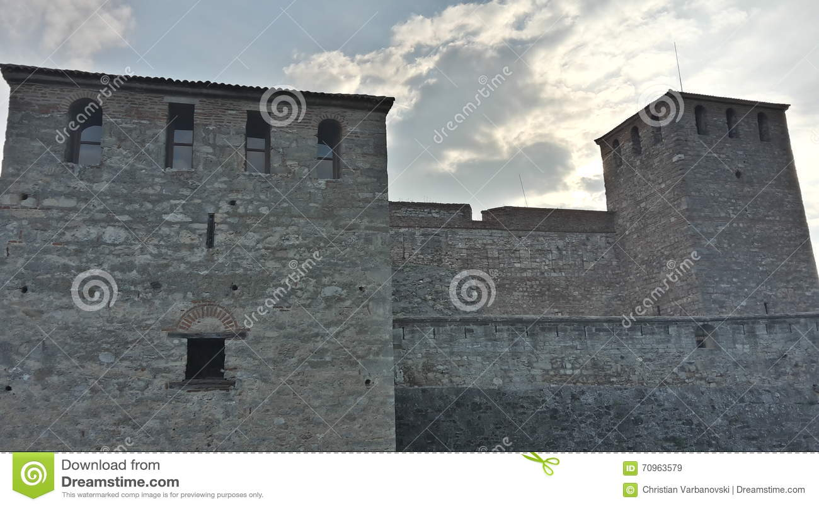 Die Festung Baba Vida in Vidin, Bulgarien