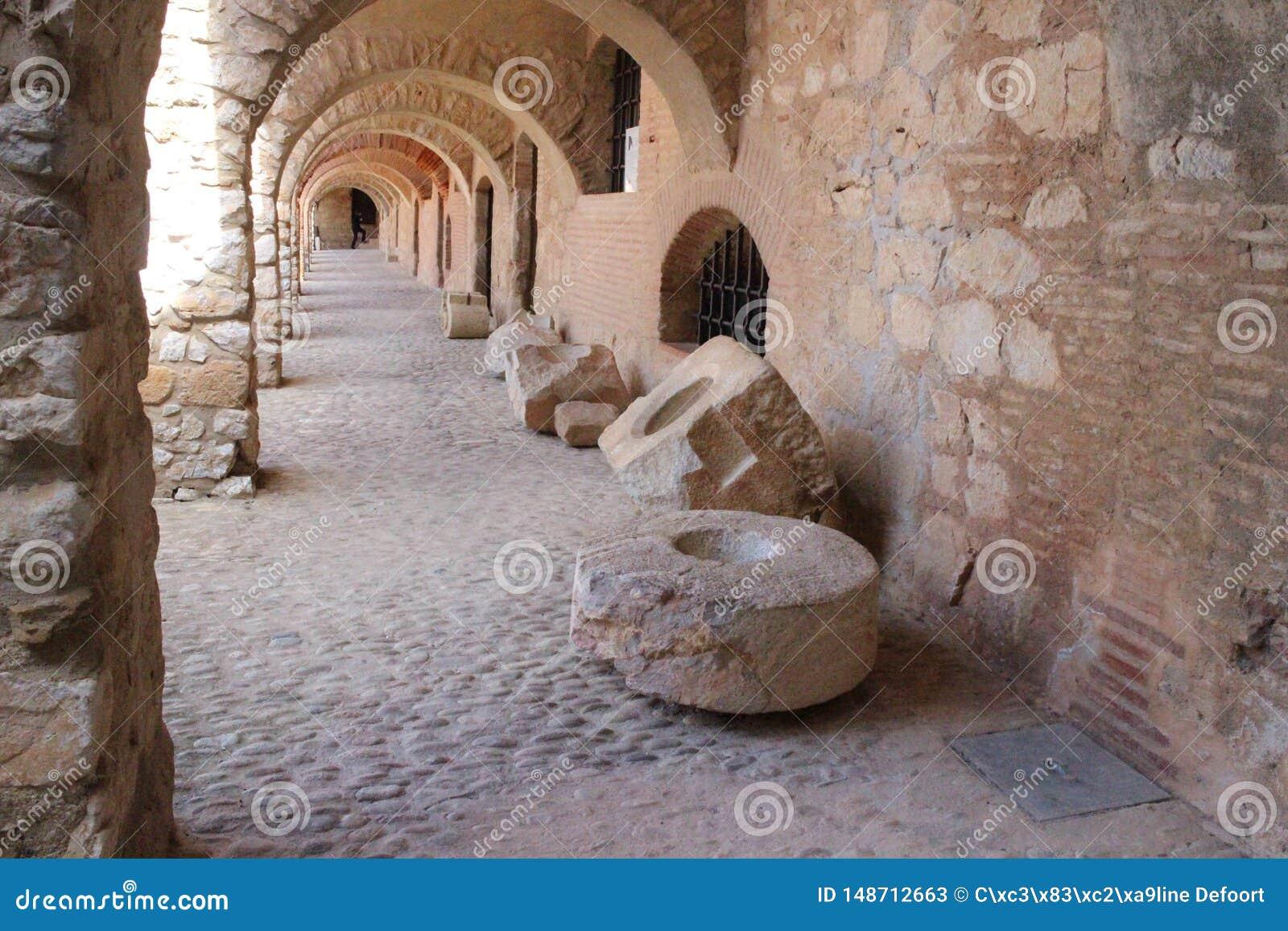 Die Festung des Salses in Frankreich