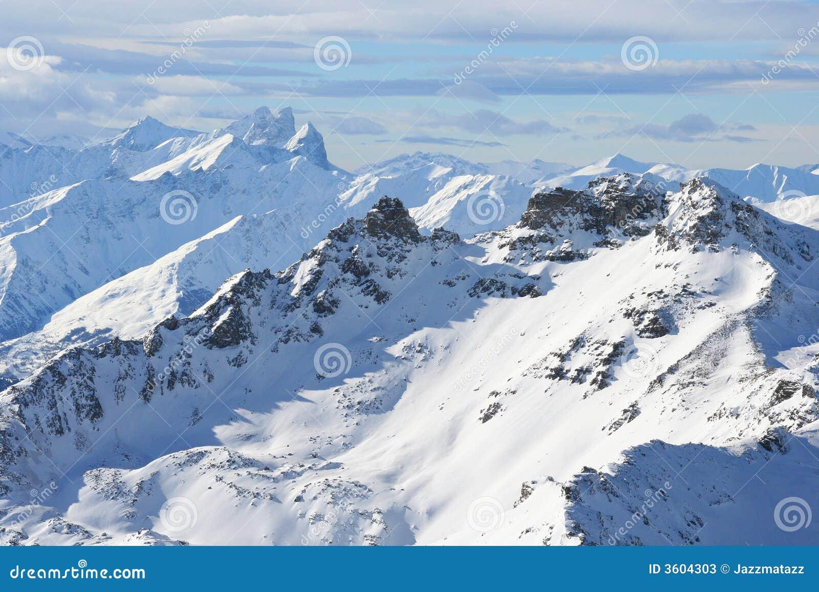 Die französischen Alpen