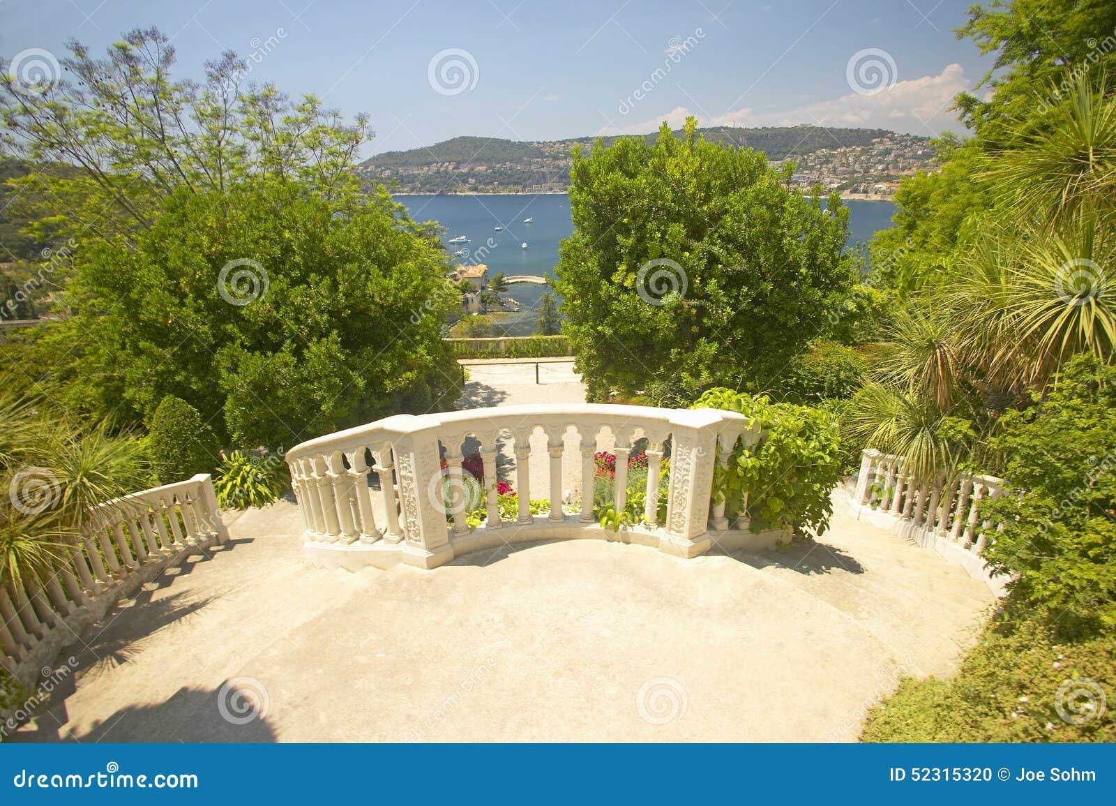 Die Gärten Und Villa Ephrussi De Rothschild, Heiliges Jean Cap ...