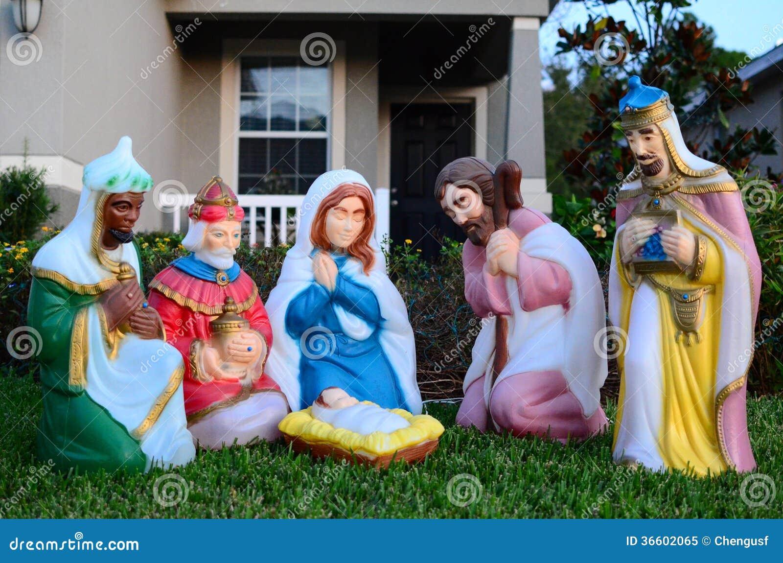 Die Geburt des Babys Jesus Christ