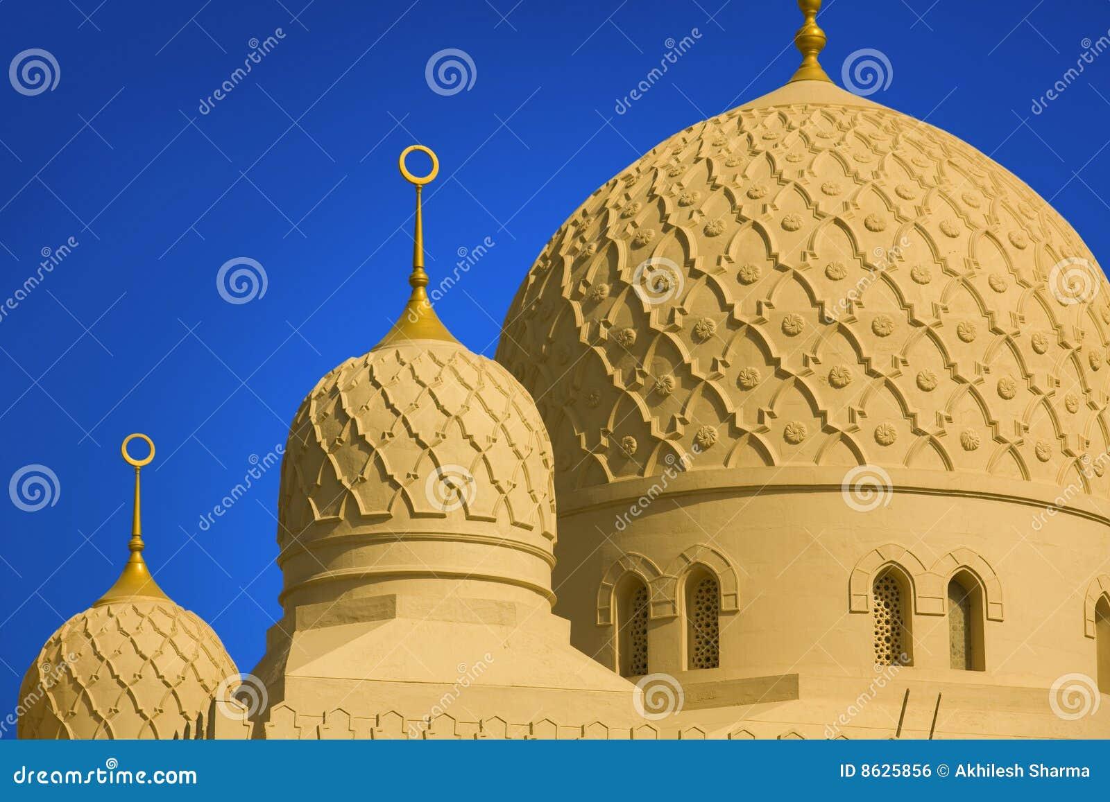 Die großartige jumeirah Moschee in Dubai