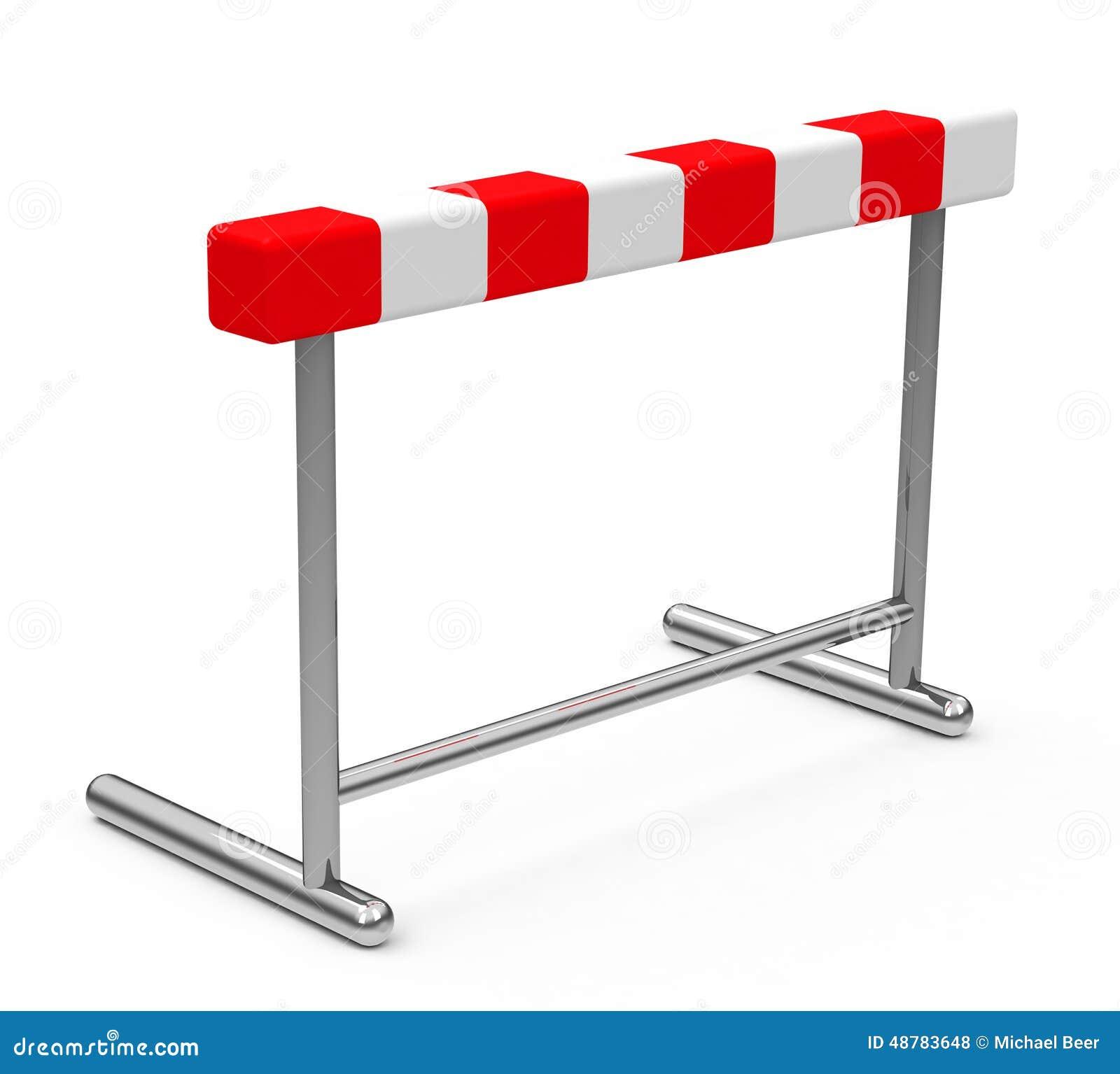die h u00fcrde stock abbildung illustration von  u00fcbung  h u00fcrden hurdle clipart free clipart hurdle pictures