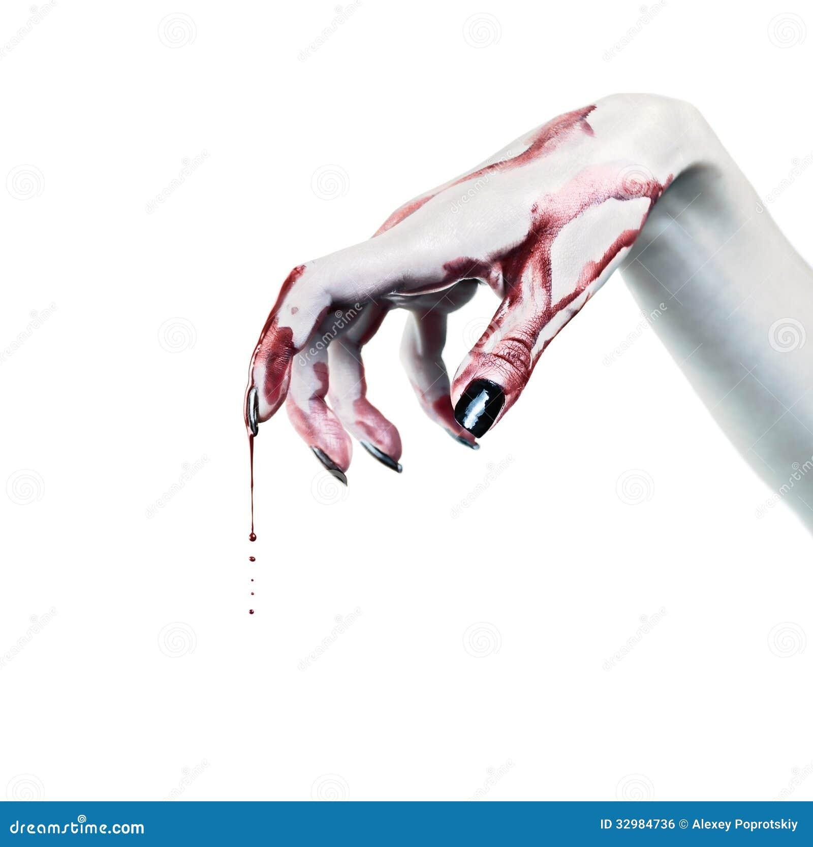 Hand Des Toten Mannes