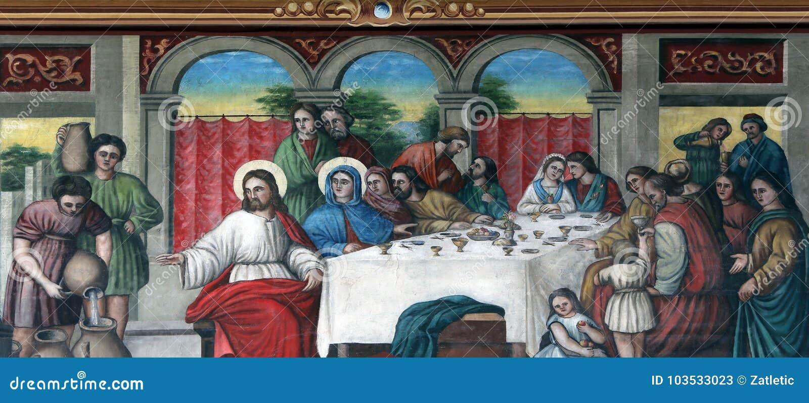 Die Hochzeit bei Cana