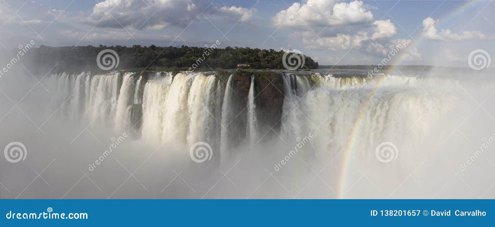 Die Iguaçu-Wasserfälle Argentinien, iguacu Brasilien