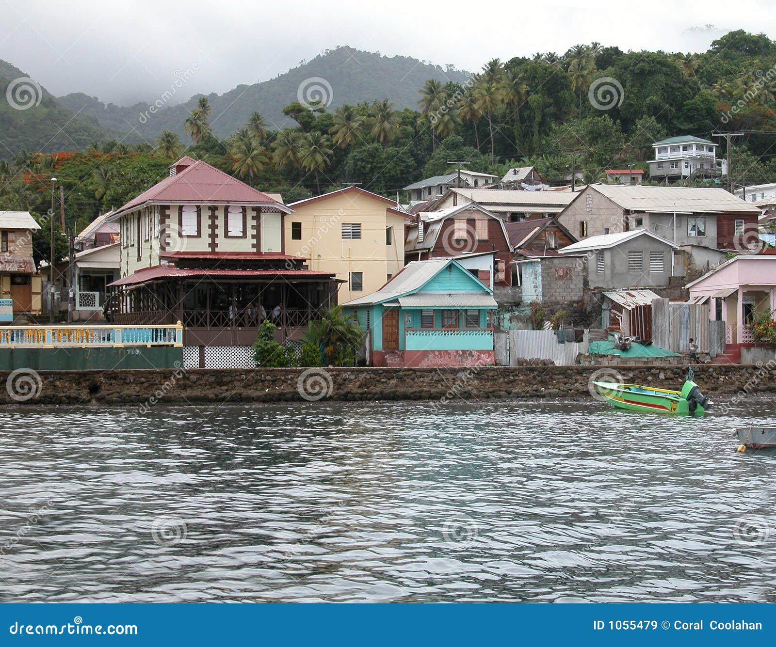 Die Insel von St Lucia