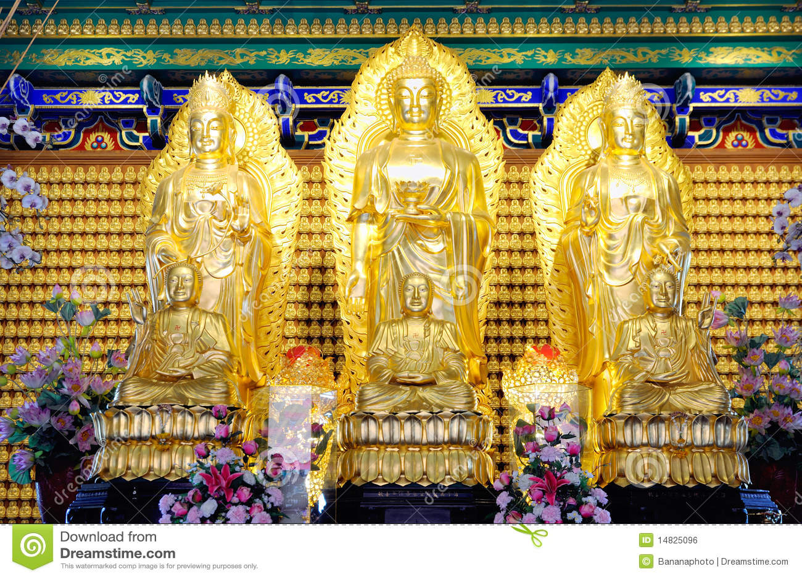 Die Joßanbetung von Buddhismus