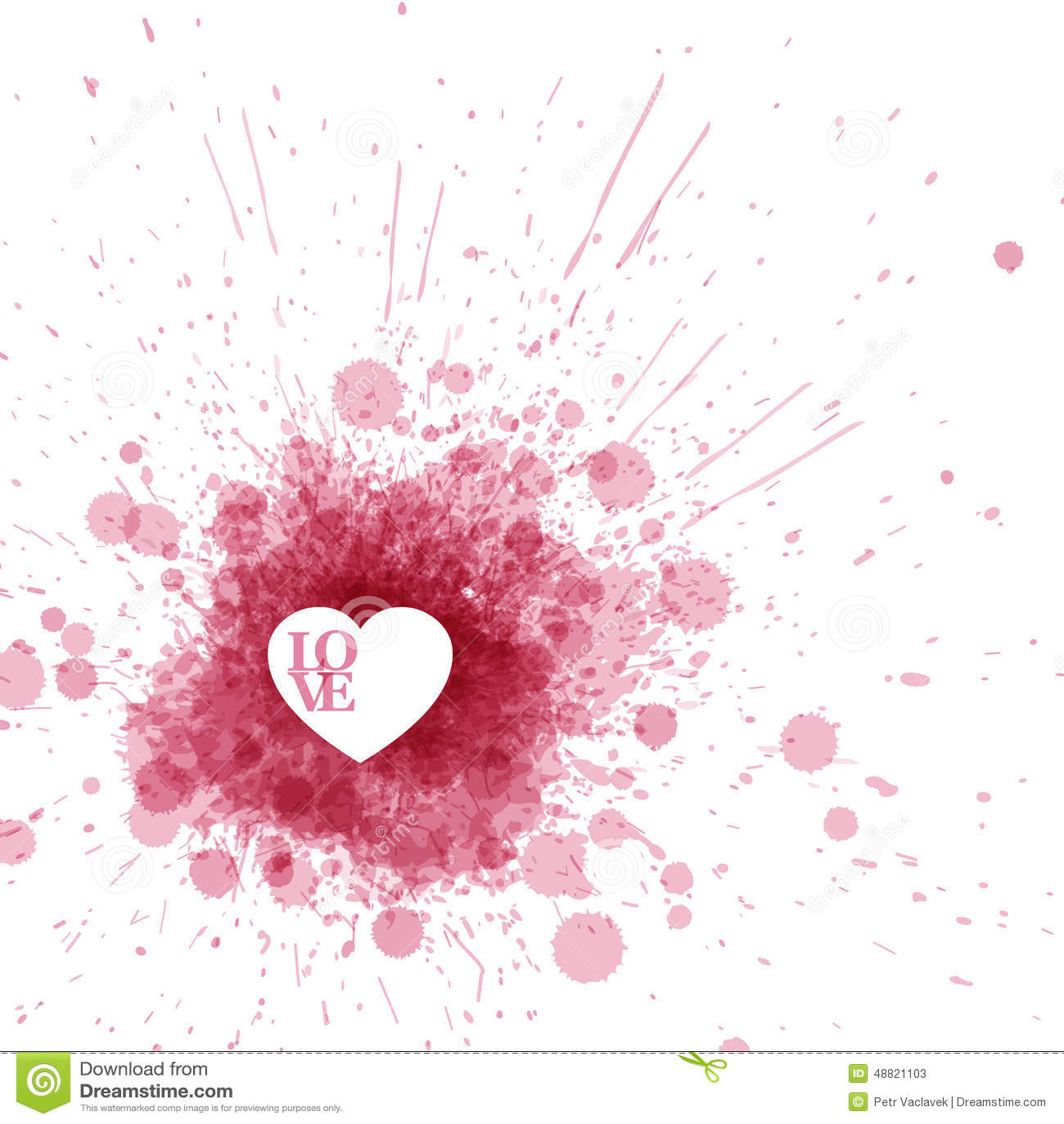 Die Karte des Vektor-glücklichen Valentinsgrußes