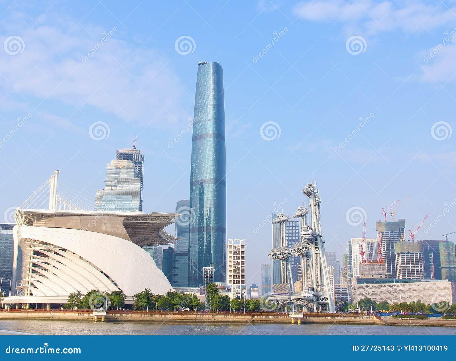 Die Landschaft in der modernen Stadt