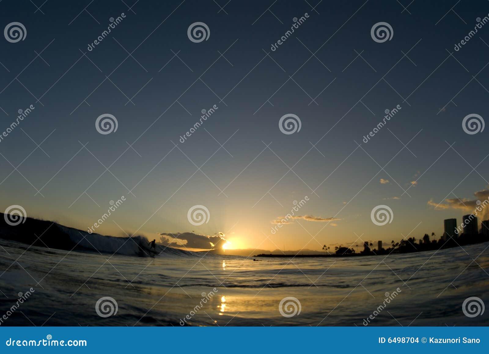 Die letzte Welle des Tages