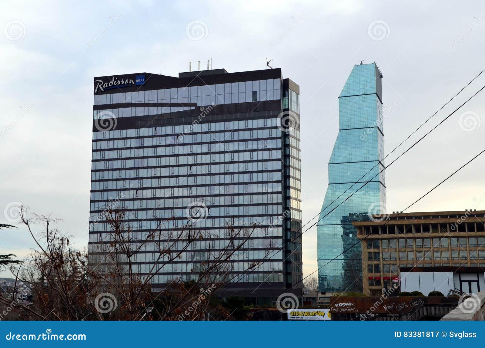 Die Moderne Architektur Von Tiflis Redaktionelles
