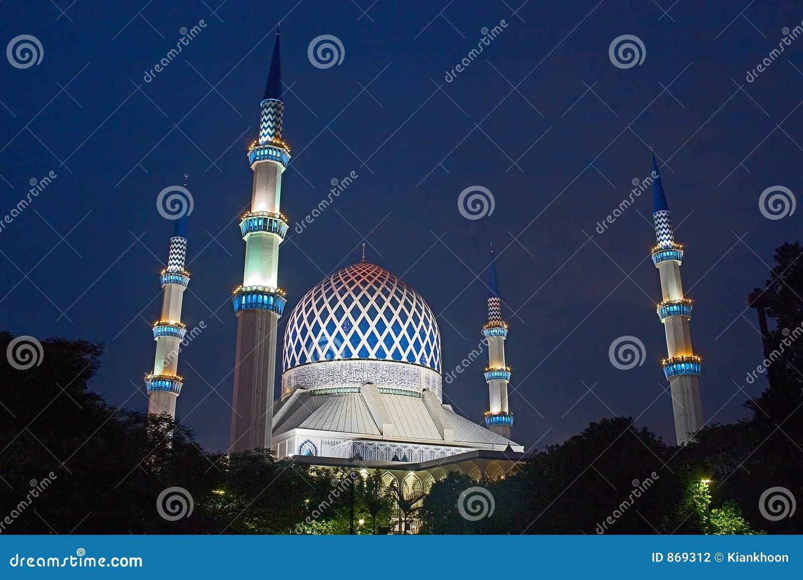 Die Moschee Sultansalahuddin-Abdul Aziz Shah