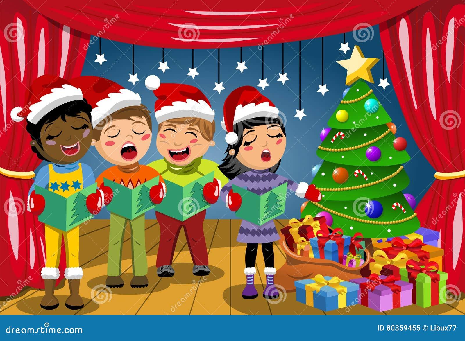 Die Multikulturellen Kinder, Die Weihnachtshut-Gesang Weihnachten ...