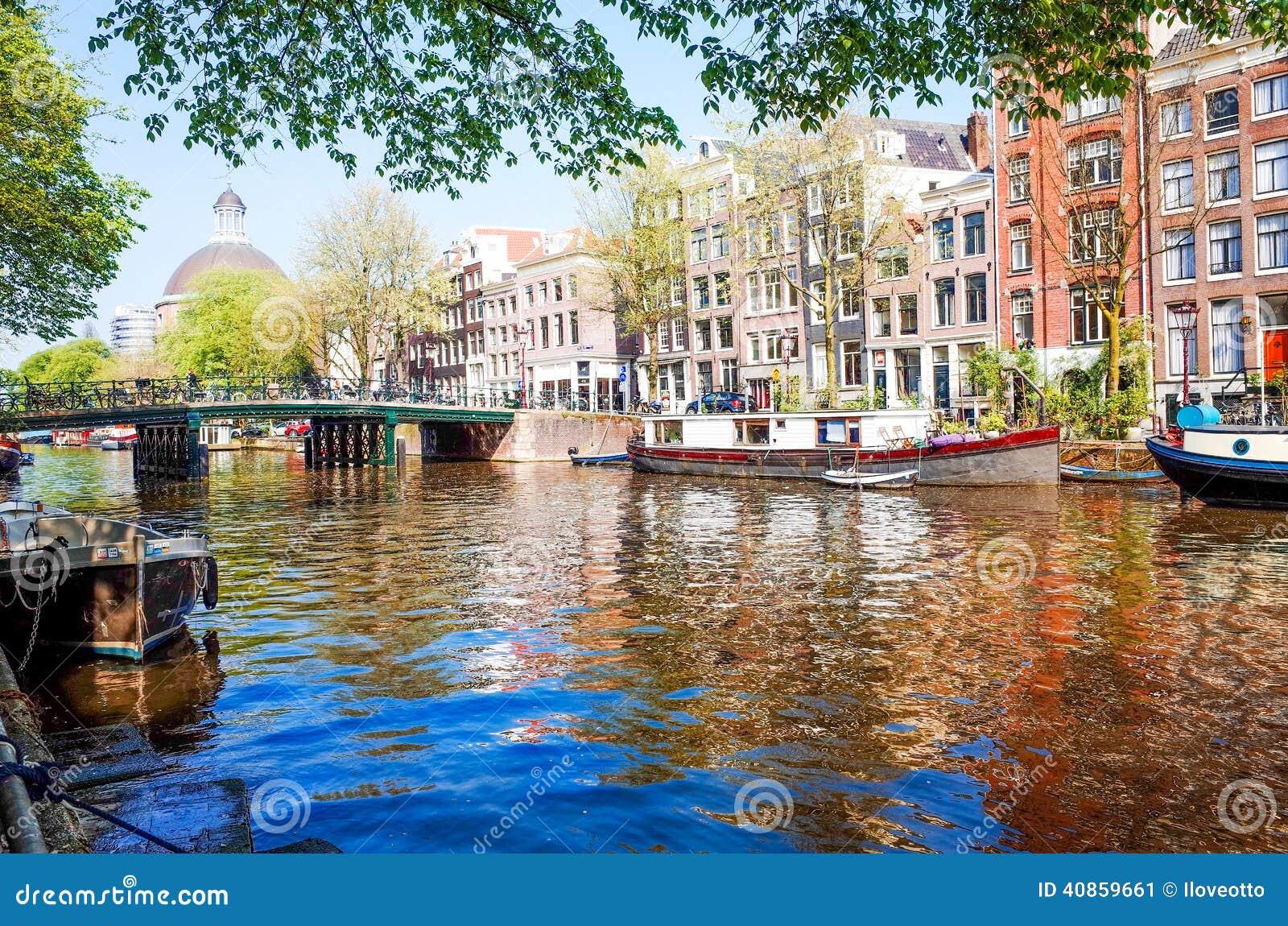 die niederlande amsterdam eine der sch nsten st dte in europa redaktionelles foto bild 40859661. Black Bedroom Furniture Sets. Home Design Ideas