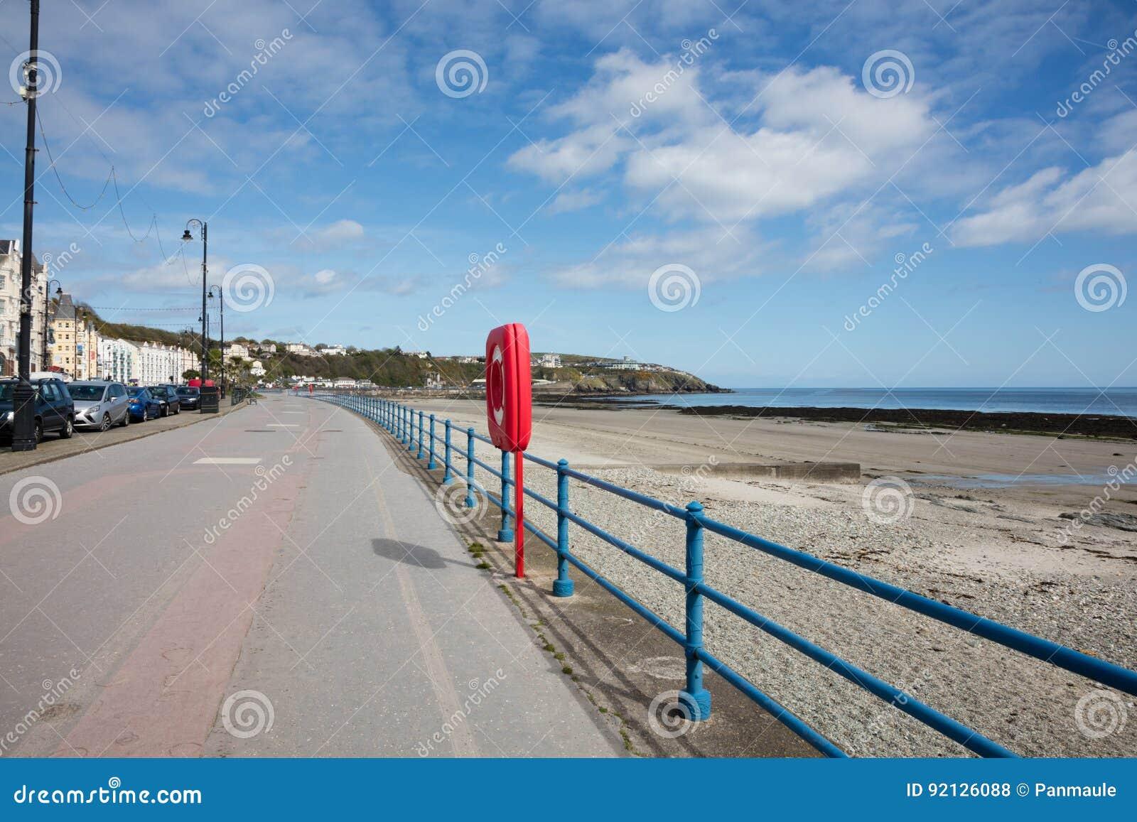 Die Promenade Douglas Isle des Mannes