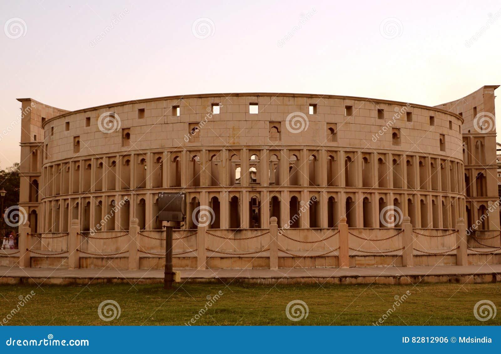 Die Replik von Rom-` s Colosseum