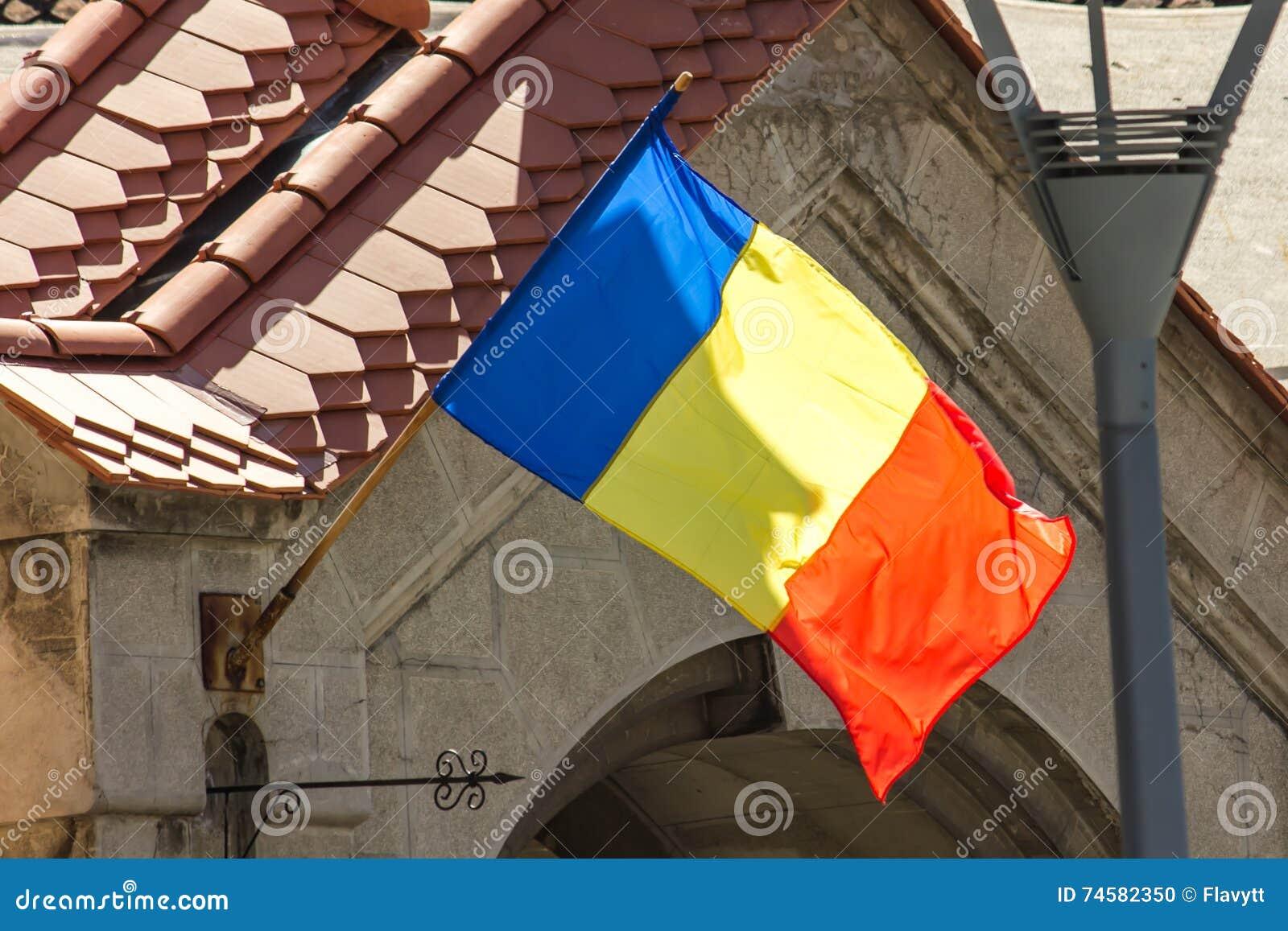 Die rumänische Flagge